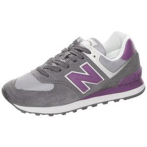 WL574-B Sneaker Damen, grau / lila, zoom bei OUTFITTER Online