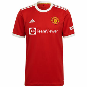 Manchester United Trikot Home 2021/2022 Herren, rot / weiß, zoom bei OUTFITTER Online