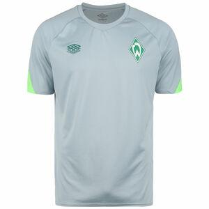 SV Werder Bremen Trainingsshirt Herren, hellgrau / hellgrün, zoom bei OUTFITTER Online