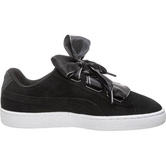 Suede Heart Galaxy Sneaker Damen, schwarz / silber, zoom bei OUTFITTER Online