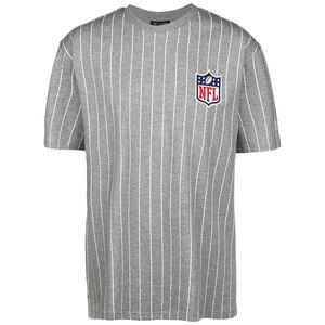 NFL Pinstripe Left Logo T-Shirt Herren, grau, zoom bei OUTFITTER Online