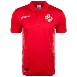 Fortuna Düsseldorf Score Poloshirt Herren, Rot, zoom bei OUTFITTER Online