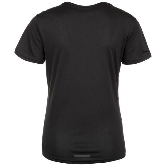 3-Stripes Laufshirt Damen, schwarz, zoom bei OUTFITTER Online