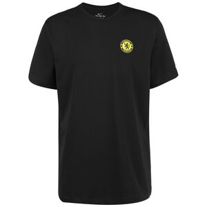FC Chelsea Travel T-Shirt Herren, schwarz / gelb, zoom bei OUTFITTER Online