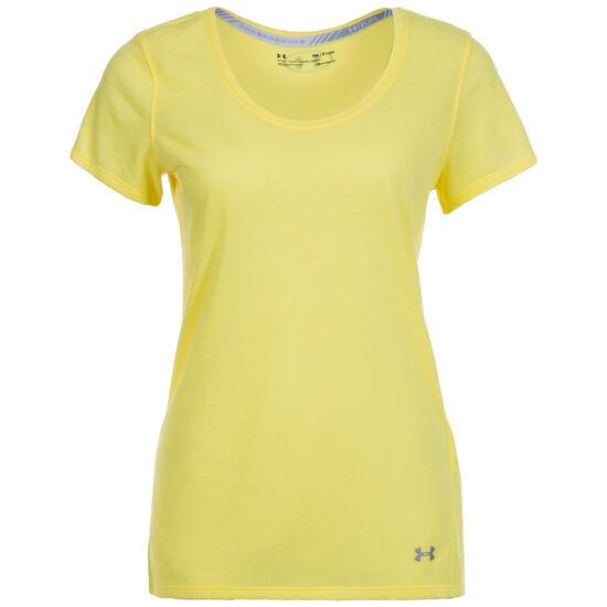 ... HeatGear Threadborne Streaker Laufshirt Damen, gelb, zoom bei OUTFITTER  Online ... 178a4bae69