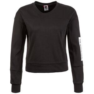 Light Cropped Sweatshirt Damen, schwarz / weiß, zoom bei OUTFITTER Online
