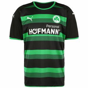SpVgg Greuther Fürth Trikot Away 2021/2022 Herren, schwarz / grün, zoom bei OUTFITTER Online
