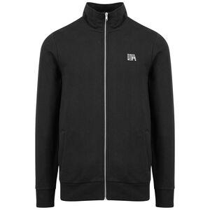 UA Heavy Cotton Jacke Herren, schwarz / weiß, zoom bei OUTFITTER Online