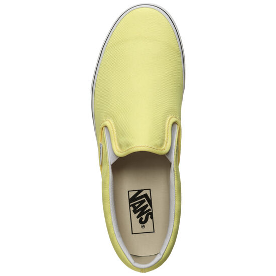 Classic Slip-On Sneaker, gelb / weiß, zoom bei OUTFITTER Online