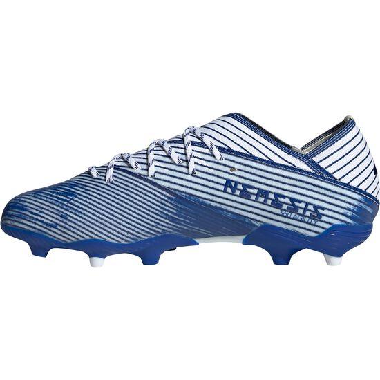 Nemeziz 19.1 FG Fußballschuh Kinder, weiß / blau, zoom bei OUTFITTER Online