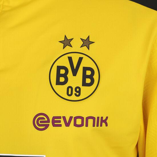 Borussia Dortmund 1/4 Zip Longsleeve Herren, gelb / schwarz, zoom bei OUTFITTER Online