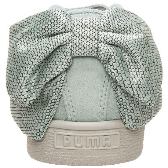 Suede Bow Hexamesh Sneaker Damen, mint, zoom bei OUTFITTER Online