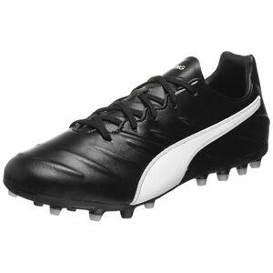 King Pro MG Fußballschuh Herren, schwarz / weiß, zoom bei OUTFITTER Online