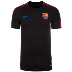 FC Barcelona Dry Squad Trainingsshirt Herren, schwarz, zoom bei OUTFITTER Online