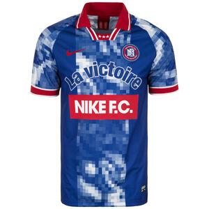 F.C. Home Fußballtrikot Herren, blau / rot, zoom bei OUTFITTER Online