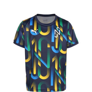 Neymar Hero Future Printed Fußballtrikot Kinder, dunkelblau / gelb, zoom bei OUTFITTER Online
