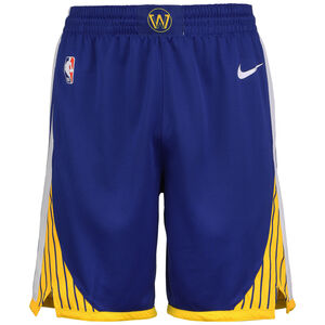 NBA Golden State Warriorss Icon Edition Swingman Short Herren, blau / gelb, zoom bei OUTFITTER Online