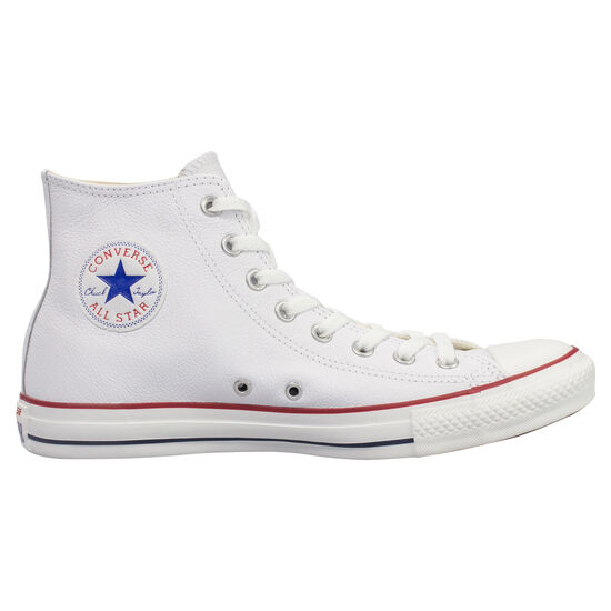Chuck Taylor All Star High Leather Sneaker, Weiß, zoom bei OUTFITTER Online