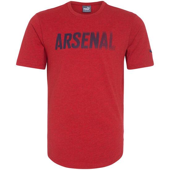 Arsenal London Fan T-Shirt Herren, rot / dunkelblau, zoom bei OUTFITTER Online
