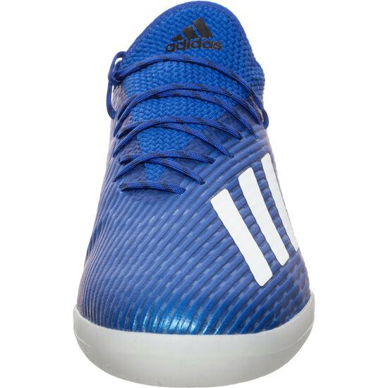 X 19.1 Indoor Fußballschuh Herren, blau / weiß, zoom bei OUTFITTER Online