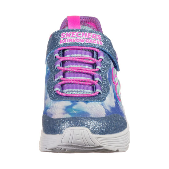 Rainbow Racer Sneaker Kinder, blau / weiß, zoom bei OUTFITTER Online