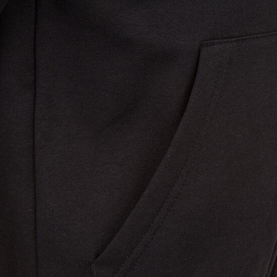 Essentials 3 Stripes Kapuzenjacke Kinder, schwarz / weiß, zoom bei OUTFITTER Online
