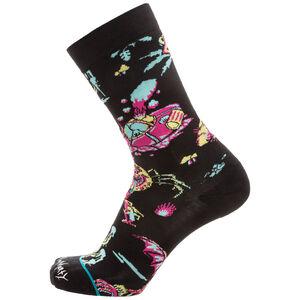 Crash Landing Socken, schwarz / bunt, zoom bei OUTFITTER Online