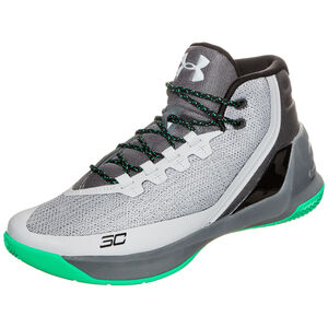 Curry 3 Basketballschuh Herren, Grau, zoom bei OUTFITTER Online