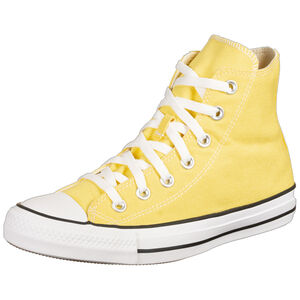 Chuck Taylor All Star High Sneaker, gelb / weiß, zoom bei OUTFITTER Online