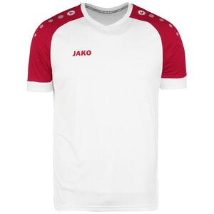 Champ 2.0 Fußballtrikot Herren, weiß / rot, zoom bei OUTFITTER Online
