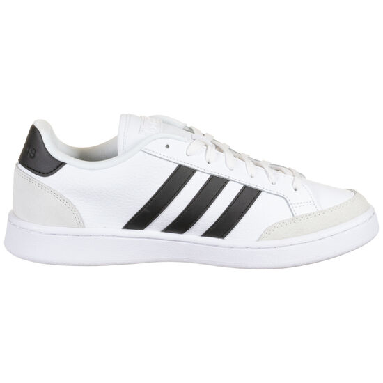 Grand Court Sneaker Herren, weiß / schwarz, zoom bei OUTFITTER Online