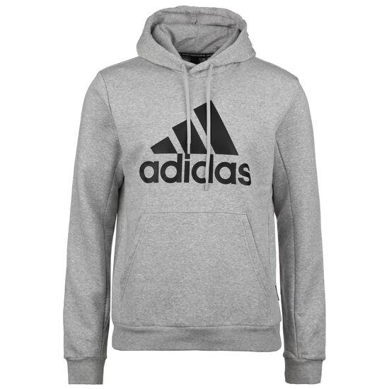 Must Haves Badge Of Sport Fleece Kapuzenpullover Herren, grau / schwarz, zoom bei OUTFITTER Online