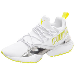 Muse Maia TZ Metallic Trailblazer Sneaker Damen, weiß / gelb, zoom bei OUTFITTER Online