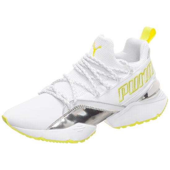 3334cd6cbf963 ... Muse Maia TZ Metallic Trailblazer Sneaker Damen, weiß / gelb, zoom bei  OUTFITTER Online ...