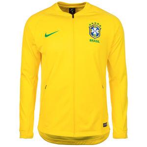Brasilien Anthem Jacke WM 2018 Herren, Gelb, zoom bei OUTFITTER Online