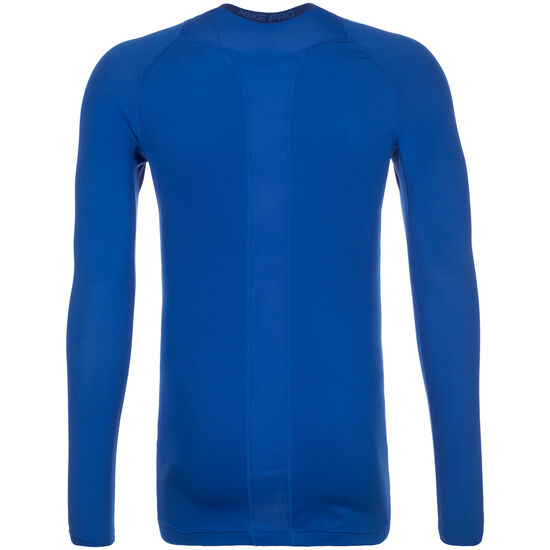 Pro Dry Compression Trainingsshirt Herren, Blau, zoom bei OUTFITTER Online