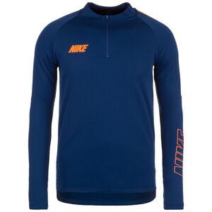 Dry Squad Drill 19 Trainingsshirt Herren, dunkelblau / orange, zoom bei OUTFITTER Online