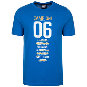 FIGC Italien Tribute 2006 Graphic T-Shirt Herren, Blau, zoom bei OUTFITTER Online