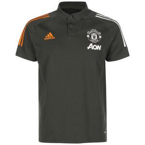 Manchester United Poloshirt Herren, graugrün, zoom bei OUTFITTER Online