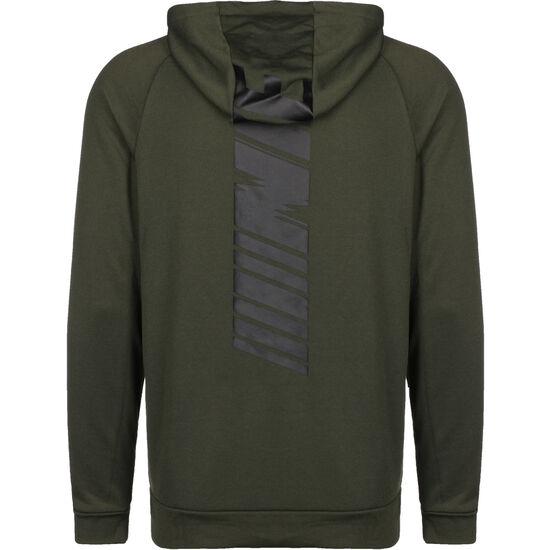 Dry Fleece GFX Kapuzenjacke Herren, oliv / schwarz, zoom bei OUTFITTER Online