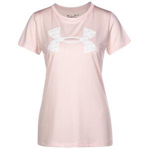 Tech Twist Graphic Trainingsshirt Damen, rosa, zoom bei OUTFITTER Online