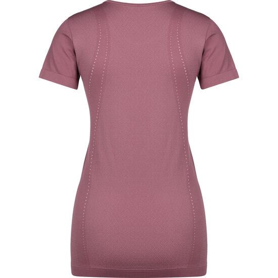 Seamless Trainingsshirt Damen, pink, zoom bei OUTFITTER Online