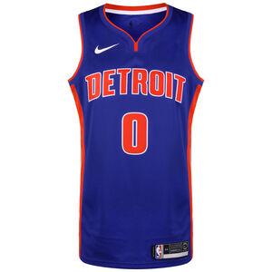 NBA Detroit Pistons #0 Drummond Basketballtrikot Herren, blau / rot, zoom bei OUTFITTER Online