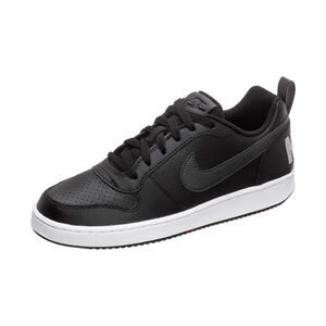 Court Borough Low EP Sneaker Kinder, schwarz / silber, zoom bei OUTFITTER Online