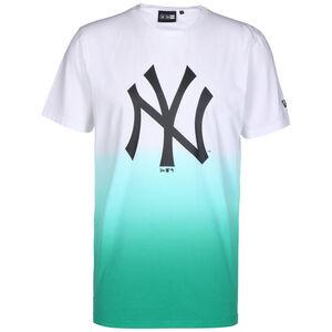 MLB New York Yankees Dip Dye T-Shirt Herren, türkis / weiß, zoom bei OUTFITTER Online