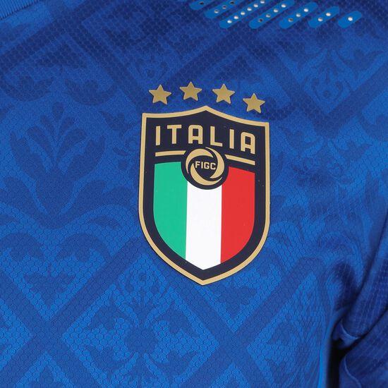 Italien Trikot Home Authentic EM 2021 Herren, blau / dunkelblau, zoom bei OUTFITTER Online