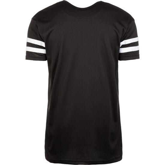 Stripe Mesh T-Shirt Herren, Schwarz, zoom bei OUTFITTER Online
