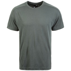 ID Stadium Tee T-Shirt Herren, graugrün, zoom bei OUTFITTER Online