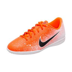 Mercurial VaporX XII Academy Indoor Fußballschuh Kinder, orange / schwarz, zoom bei OUTFITTER Online