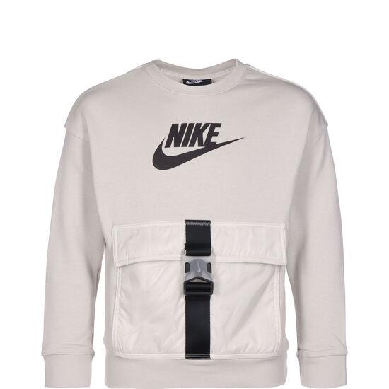 Utility Fleece Sweatshirt Kinder, beige / schwarz, zoom bei OUTFITTER Online